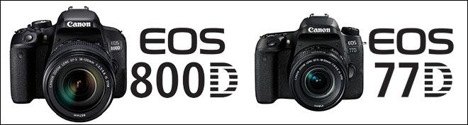 EOS 800D - EOS 77D